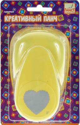 Фигурный дырокол Fancy Creative Сердечко 1 лист FDP500/1 одинарный FDP500/1 fancy nancy pajama day level 1