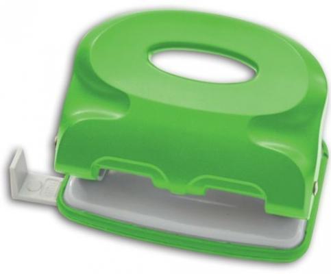 Дырокол Index ColourPlay 15 листов ICP115/GN ICP115/GN дырокол index colourplay на 10 листов пластиковый корпус неоновый зелёный icp110 gn