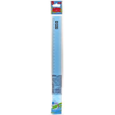 Линейка для Левшей, гибкая, 30 см, в инд. пакете с евроводвесом APR30/TF/F/L