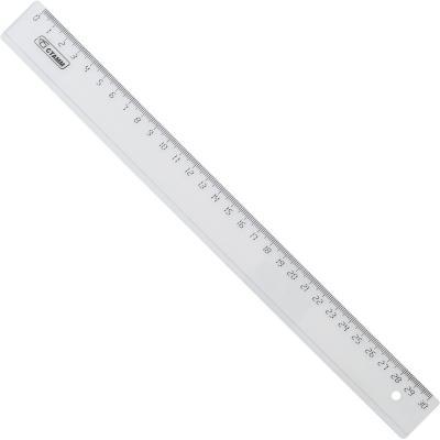 Линейка СТАММ ЛН33 30 см пластик канцелярия стамм линейка 30 см