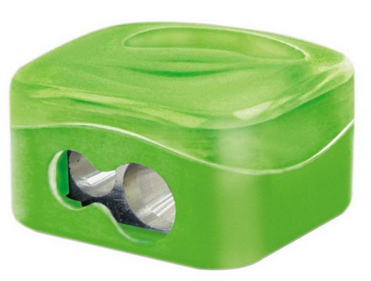 Точилка M+R QUATTRO SWING пластик зеленый 0356-0000
