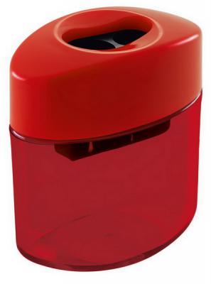 Точилка M+R ELLIPTIC LINE пластик красный 0908-0450