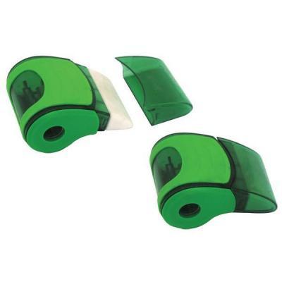 Точилка Action! СВИСТОК пластик зеленый ASH520