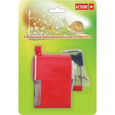 Точилка Action! ASH615 пластик ассорти точилка index ish001 пластик ассорти