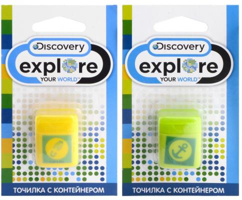 Точилка Action! Discovery пластик ассорти DV-ASH100 точилка index ish001 пластик ассорти