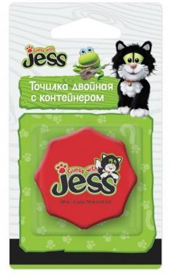 Точилка Action! Guess with Jess пластик красный GJ-ASH100
