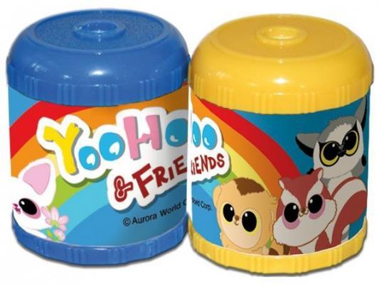 Фото - Точилка Action! YOOHOO пластик ассорти YH-ASH100 линейка action yoohoo пластиковая с рисунком 20см пакет c е п 2 диз yh aar20