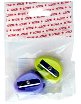 Набор точилок Action! ASH545 пластик ассорти