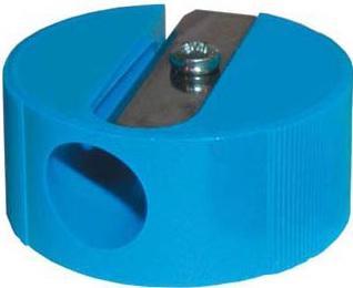 Точилка Eisen круглая форма пластик синий 110.01.999