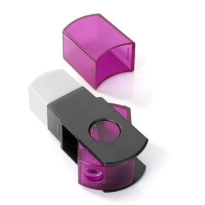 Точилка MINI пластмассовая, с контейнером, прозрачная 481.40.998