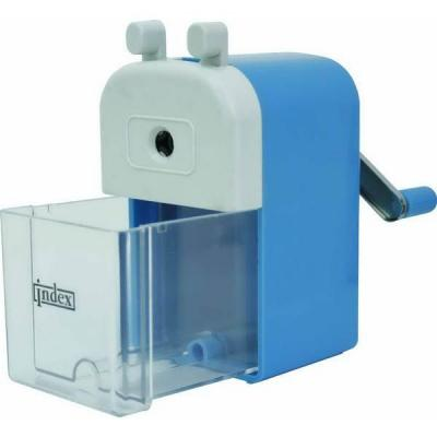 Точилка Index ISH312 пластик ассорти