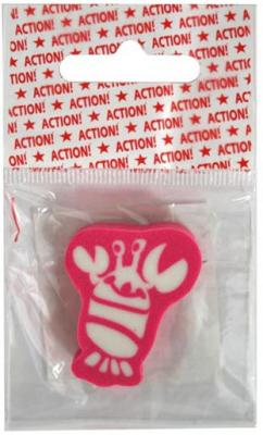 Ластик Action! Костяшки 1 шт фигурный AER45 action