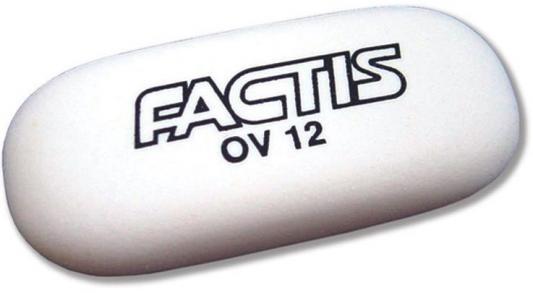 Ластик Factis EOV12 1 шт овальный EOV12
