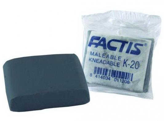 Ластик Factis K20 1 шт прямоугольный K20
