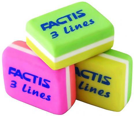 Ластик Factis L3/75 1 шт прямоугольный в ассортименте