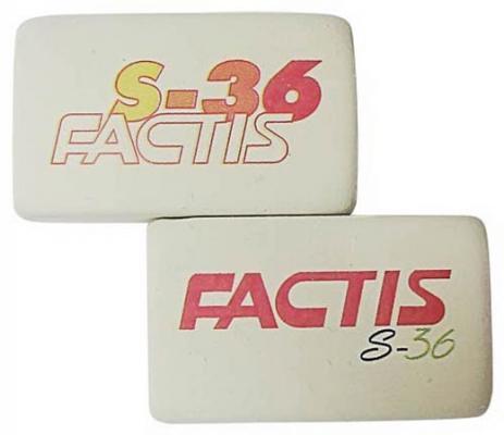 Ластик Factis S36/50 1 шт прямоугольный S36/50 ластик factis p36 1 шт прямоугольный