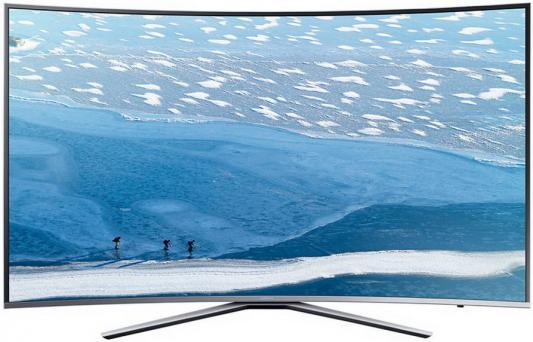 Телевизор Samsung UE43KU6500UXRU серебристый купить samsung ue 37 d 6500