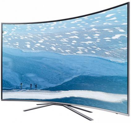 Телевизор Samsung UE49KU6500UXRU серебристый