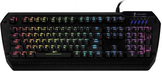 Клавиатура Tesoro Lobera Spectrum USB черный TS-G5SFL