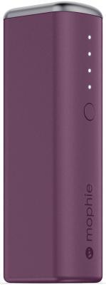 Портативное зарядное устройство Mophie Power Reserve 1X  2600мАч фиолетовый 3351