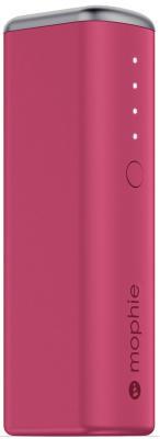 Портативное зарядное устройство Mophie Power Reserve 1X 2600мАч розовый 3352