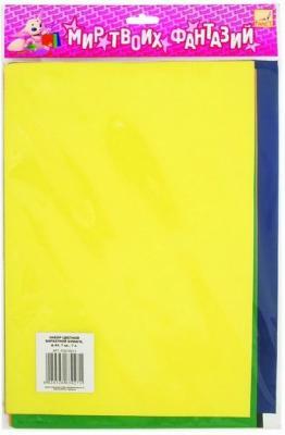 Цветная бумага Fancy Creative FD010013 A5 7 листов наборы для поделок fancy creative набор дл творчества модели самолетов