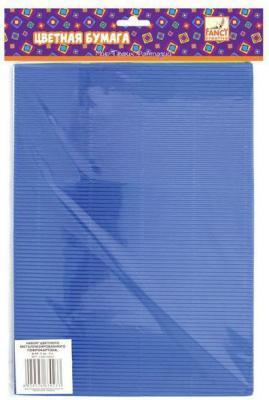 Набор цветного картона Fancy Creative FD010007 A4 5 листов гофрированный набор для творчества fancy creative пушистая картинка 14 5 10 5см