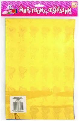 Цветная бумага Fancy Creative FD010021 A4 6 листов канцелярия fancy creative набор самоклеющейся цветной голографической бумаги a4 6 цв 6 л