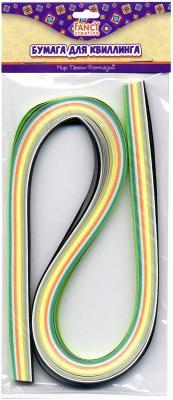 Бумага для квиллинга Fancy Creative Микс 6 мм 100 листов FD090011 наборы для творчества fancy creative набор цветной бумаги для квиллинга микс 9 мм 18 цв