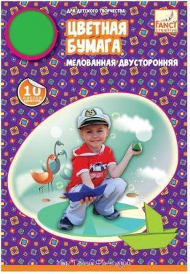 Цветная бумага Action! FCCP-10/10 A4 10 листов двусторонняя бумага цветная 10 листов 10 цветов двухсторонняя shopkins
