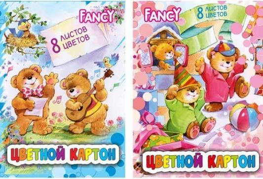 Набор цветного картона Action! Fancy A4 8 листов FCC-8/8 в ассортименте