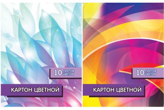 Набор цветного картона Action! Абстракция A4 10 листов ACC-10/10M-4 в ассортименте