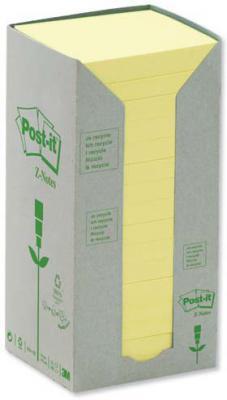 Бумага с липким слоем 3M 100 листов 76x76 мм желтый R330-1T
