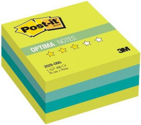 Бумага с липким слоем 3M 400 листов 76x76 мм многоцветный 2028-ONG