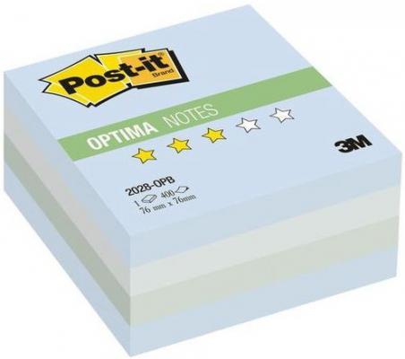 Бумага с липким слоем 3M 400 листов 76x76 мм многоцветный голубой 2028-OPB
