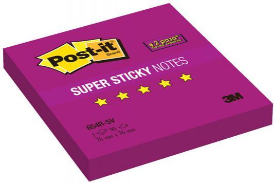 Бумага с липким слоем Post-it 90 листов 76x76 мм фиолетовый 654R-SV