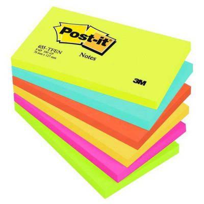 Бумага с липким слоем 3M 100 листов 127х76 мм многоцветный 655-TFEN