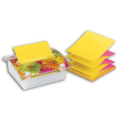 Бумага с липким слоем 3M 100 листов 76x76 мм многоцветный