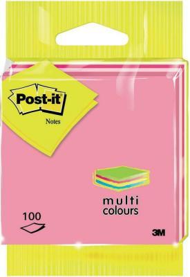 Бумага с липким слоем 3M 100 листов 76x76 мм многоцветный 6820RBST