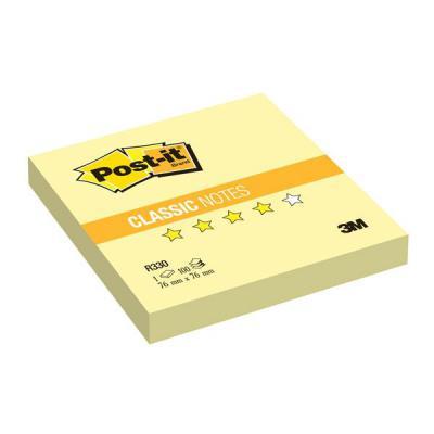 Бумага с липким слоем 3M 100 листов 76x76 мм желтый R330-RU
