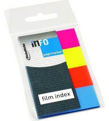 Стикер Global 160 листов 20x50 мм многоцветный 267109