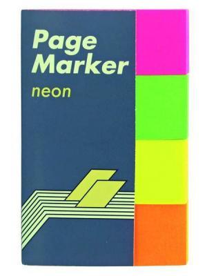 Стикер Global 200 листов 20x50 мм многоцветный 567089