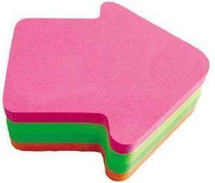 Бумага с липким слоем Global 200 листов 70х70 мм многоцветный СТРЕЛА 583539