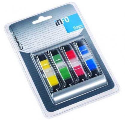 Стикер Global 144 листа 12,5х43 мм многоцветный 773918