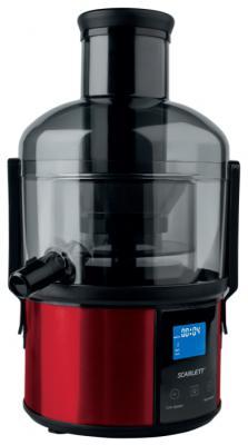 Соковыжималка Scarlett SC-JE50S32 1500 Вт пластик красный чёрный