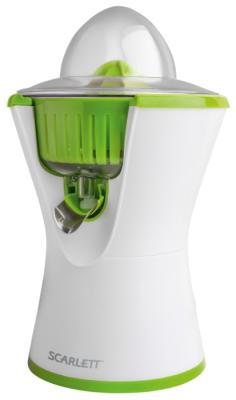Соковыжималка Scarlett SC-JE50C03 90 Вт пластик белый соковыжималка scarlett sc je50c03 цитрусовая белый и зеленый [sc je50c03]