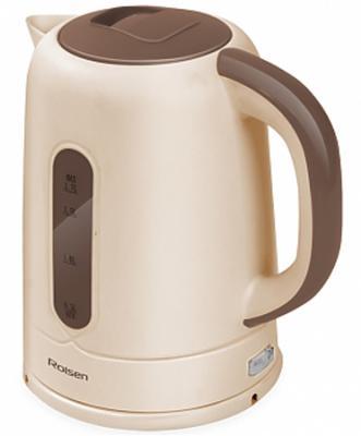 Чайник Rolsen RK-2723P 1850 Вт бежевый коричневый 1.7 л пластик
