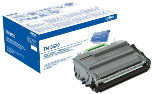 Картридж Brother TN3520 для HL-L6400DW/L6400DWT/MFC-L6900DW/L6900DWT черный 20000стр brother hq 12