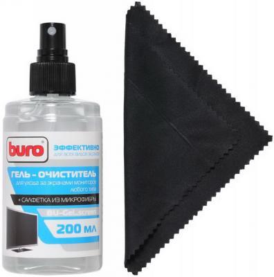 Набор для ухода за техникой BURO BU-Gel_screen 200 мл
