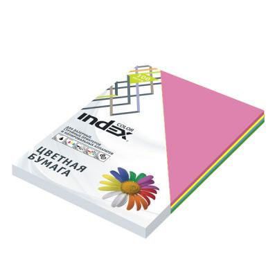 Цветная бумага Index Color A4 100 листов ICmixintensiv/4x25/1 цветная бумага index color a4 100 листов icmixmedium 4x25 100